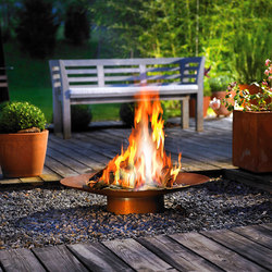 DeLIGHT 40 Gasschale | Torches / Flambeaux | Attika Feuer