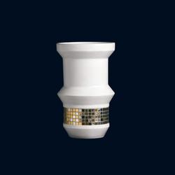 Organic Pixel | Platinum Open | Vases | Bisazza