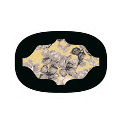 Mosaic Super Ellipse | Hanami black | Dining tables | Bisazza