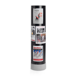 Subway notice board | Brochure / Magazine display stands | Materia