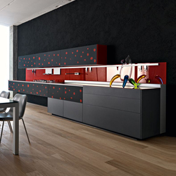 Artematica Vitrum Arte I Pop | Cucine parete | Valcucine