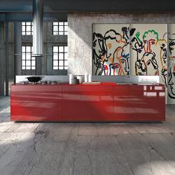 Artematica Vitrum Arte I Sandro Chia | Island kitchens | Valcucine