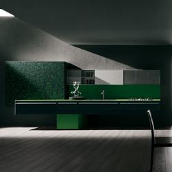 Artematica Vitrum Arte I Texture | Fitted kitchens | Valcucine