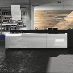 Artematica Vitrum Arte I Ugo Nespolo | Cucine a parete | Valcucine