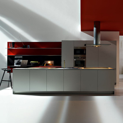 Artematica Multiline I Alluminio Rigato | Cucine a parete | Valcucine