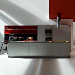 Artematica Multiline I Alluminio Rigato | Cocinas integrales | Valcucine