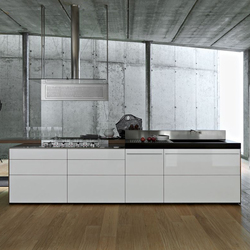 Artematica Multiline  I Bianco Ghiaccio | Fitted kitchens | Valcucine