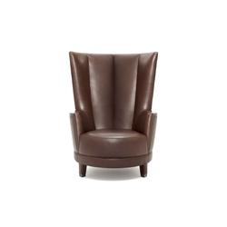 Harlem High-backed armchair | Sillones lounge | Neue Wiener Werkstätte