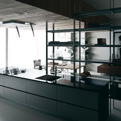Riciclantica Multiline I Alluminio Rigato | Cucine a parete | Valcucine