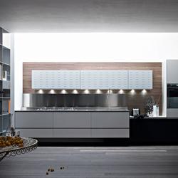 Riciclantica Alluminio I Verniciato Bianco | Cucine a parete | Valcucine