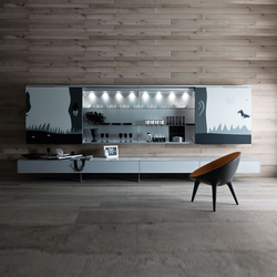 Living Tutum | Wall storage systems | Valcucine
