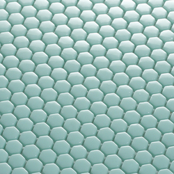 Hexagon Mosaic | Glass mosaics | EX.T