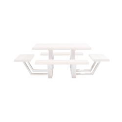 Carré | Restaurant tables and benches | CASSECROUTE
