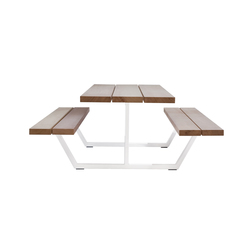 Cassecroute Table | Restaurant tables and benches | CASSECROUTE