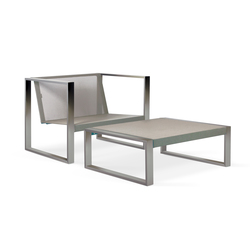 Cima Lounge Piecera 78 | Garden armchairs | FueraDentro