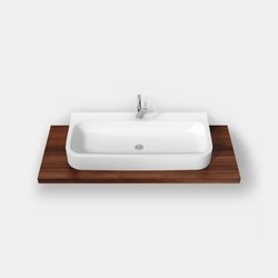 Curva® Surface-mounted basin ASCU | Lavabos | Hasenkopf