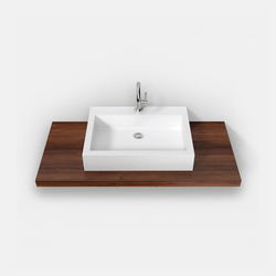 Fontana surface-mounted basins ASP pure and simple | Lavabi / Lavandini | Hasenkopf