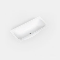 Basic shapes Curva®1 | Built-in bathtubs | Hasenkopf