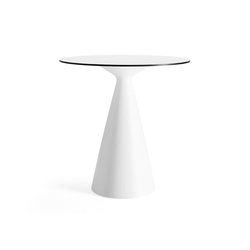 Cone table | Pupitres de pie | Materia