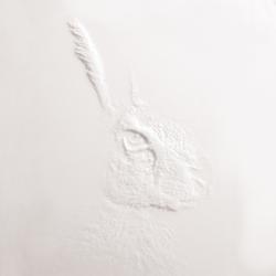 Frescata Graustufenfräsung | Mineralwerkstoff Platten | Hasenkopf