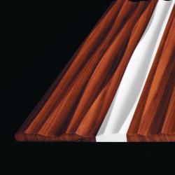 Frescata Materialmix Corian Holz | Holz Platten | Hasenkopf