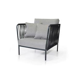 Nido Sessel mit Gewebe | Gartensessel | Expormim