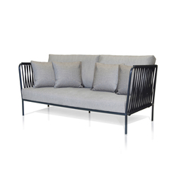 Nido Sofa mit Gewebe | Gartensofas | Expormim