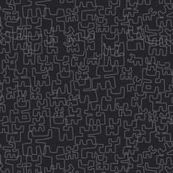 Toritos Antracita | Wall coverings / wallpapers | Equipo DRT