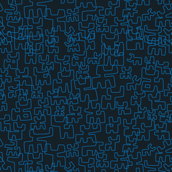 Toritos Azul | Wall coverings / wallpapers | Equipo DRT