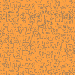 Toritos Calabaza | Wallcoverings | Equipo DRT