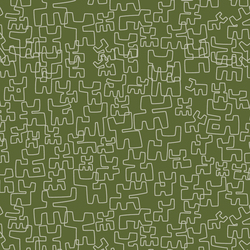 Toritos Verde | Wall coverings / wallpapers | Equipo DRT