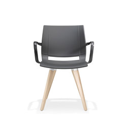 2080/3 uni_verso | Visitors chairs / Side chairs | Kusch+Co