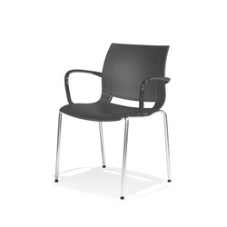 2000/4 uni_verso | Visitors chairs / Side chairs | Kusch+Co