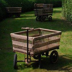 Wagon + Basket | Wagons | TRADEWINDS