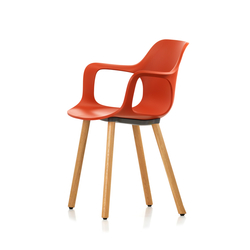 HAL Armchair Wood | Sillas | Vitra