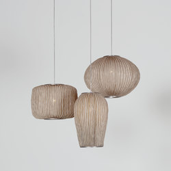 Coral composition CO04-3 | Suspended lights | arturo alvarez