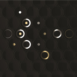 Dot - Black | Azulejos de pared | Kale