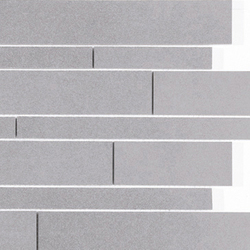 Icon - Brick Mosaic Grey | Carrelage pour sol | Kale