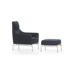 Suita Fauteuil & Ottoman | Lounge chairs | Vitra