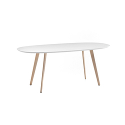 Gher h74 Oval top | Dining tables | Arper