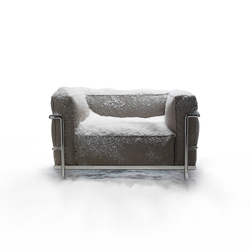 LC3 Outdoor Armchair | Armchairs | Cassina