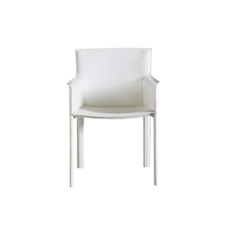 Pasqualina Armchair | Visitors chairs / Side chairs | Enrico Pellizzoni