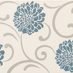 Penelope - Oil Blue Full Decor | Ceramic tiles | Kale