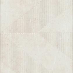 Saint Laurent - Geometric Decor Ivory | Wall tiles | Kale