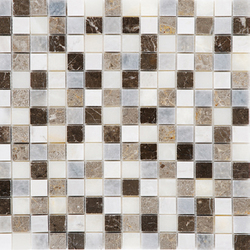 Bardiglio - Blue Lagoon Mosaic Polished | Floor tiles | Kale