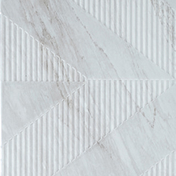 Bardiglio - Geometric Decor Ice Grey | Ceramic tiles | Kale