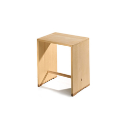 Bill | Ulmer Stool spruce wood | Comodini | wb form ag
