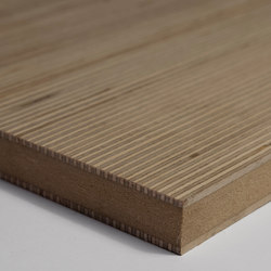 Plexwood - Panel doble | Chapas de madera | Plexwood