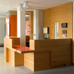 Plexwood Application - St. Olavs Hospital, various departments | Wood panels | Plexwood
