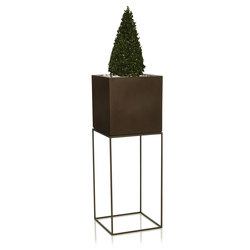 Vela Cubo | Plant pots | Vondom